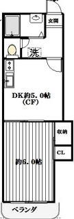 駒沢大学徒歩8分に二人入居可物件!賃料改定です!